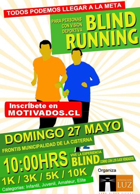 Corrida Blind Running 2012