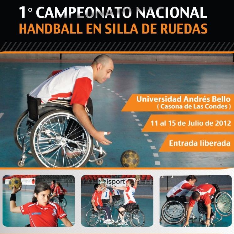 Primer Campeonato Nacional Handball Silla