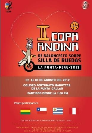 II Copa Andina de Baloncesto sobre Silla de Ruedas