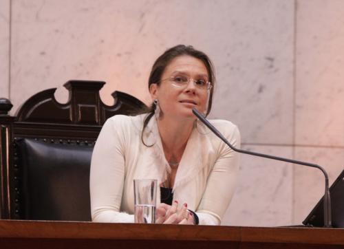 María Ximena Rivas Senadis - Crédito: Cámara de Diputados