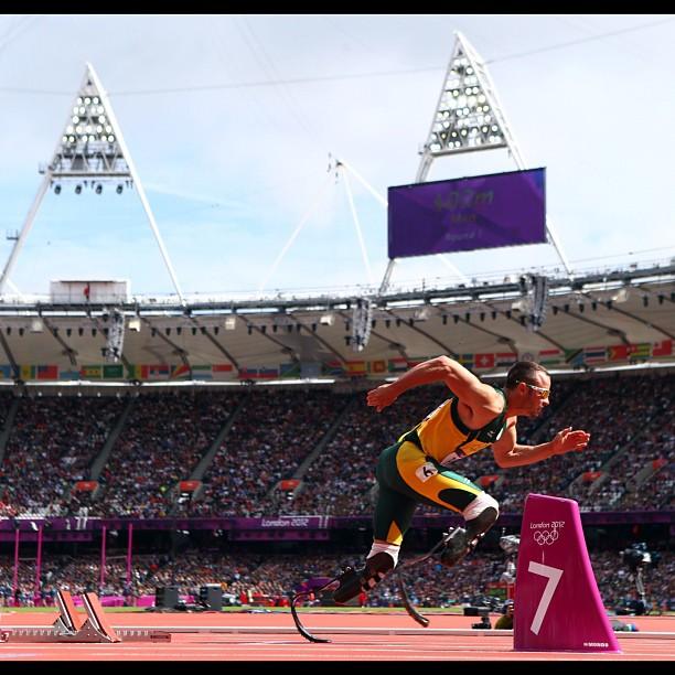 Oscar Pistorius Londres 2012 - @Olympics