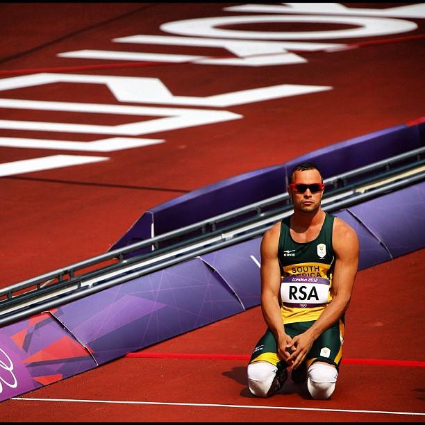 Oscar Pistorius - Crédito: @OscarPistorius
