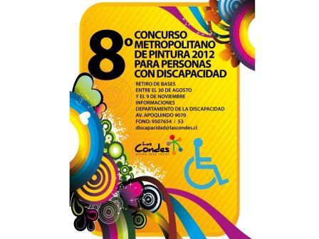 Afiche VIII Concurso de Pintura Las Condes