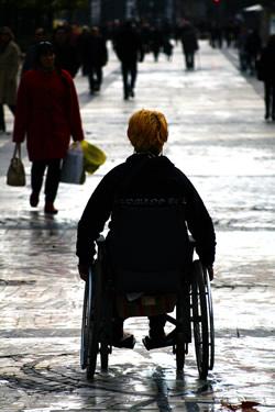Persona en silla de ruedas - Fuente: Cepal