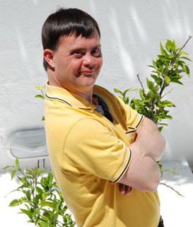 Hombre con sindrome de Down - Fuente: ONU