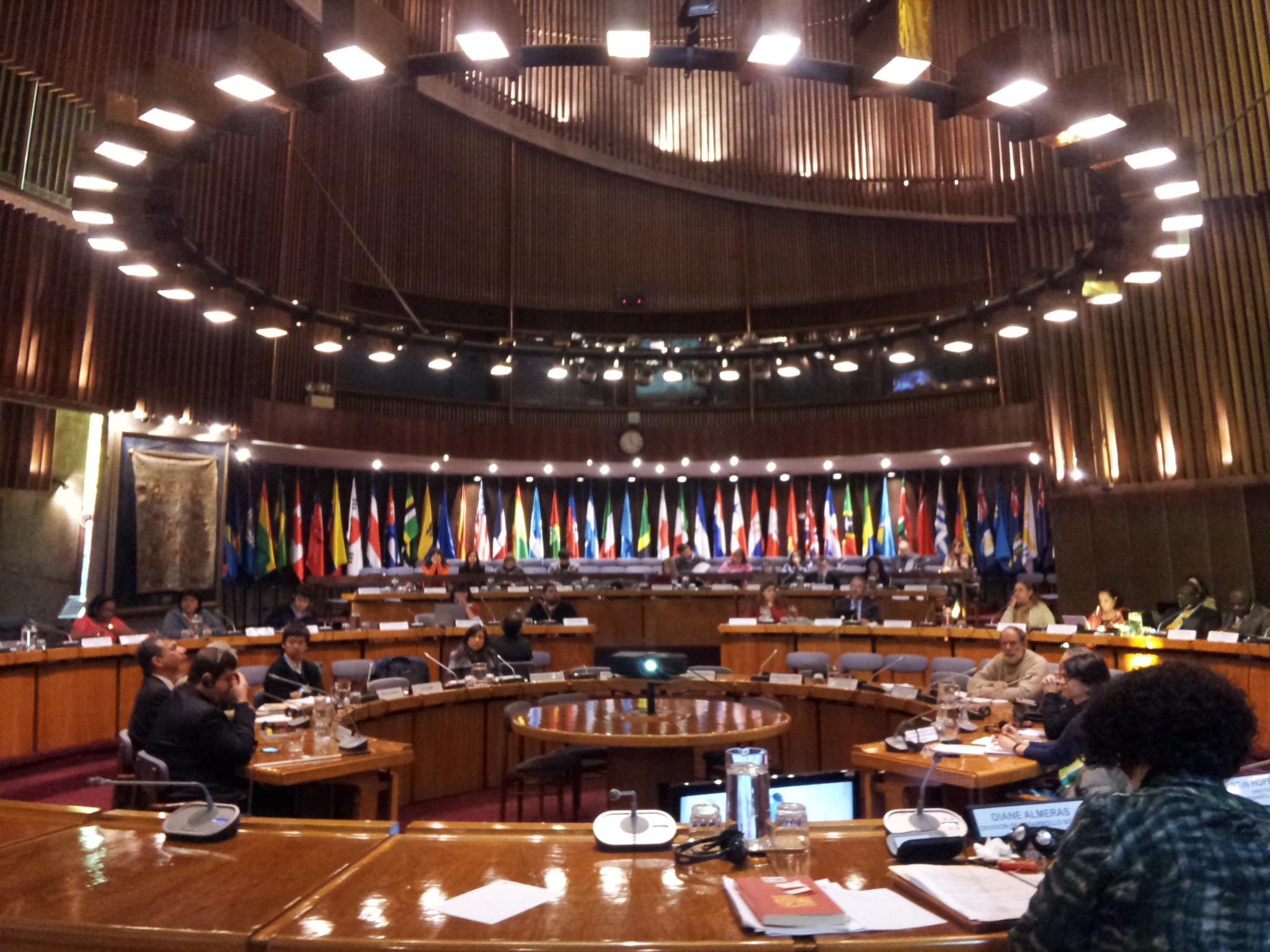 Reunión de Especialistas en Cepal - Integrados Chile