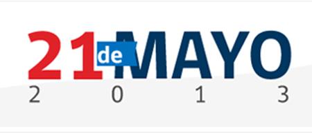 Logo 21 de mayo de 2013