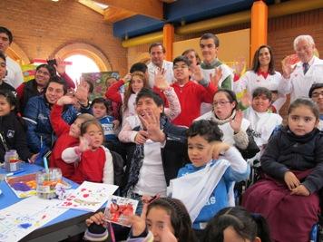 Estado Mundial de la Infancia 2013 en Instituto Teletón - Fuente: Unicef