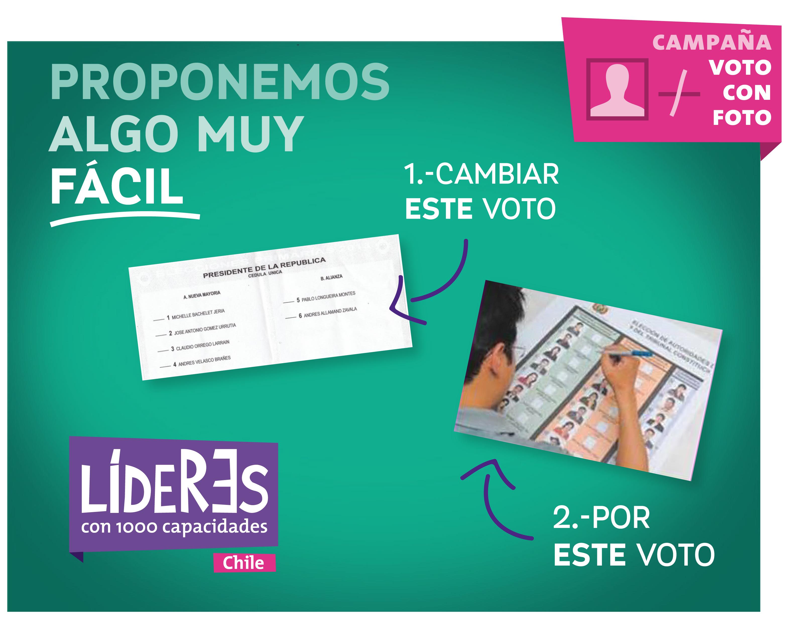 Campaña Voto con Foto