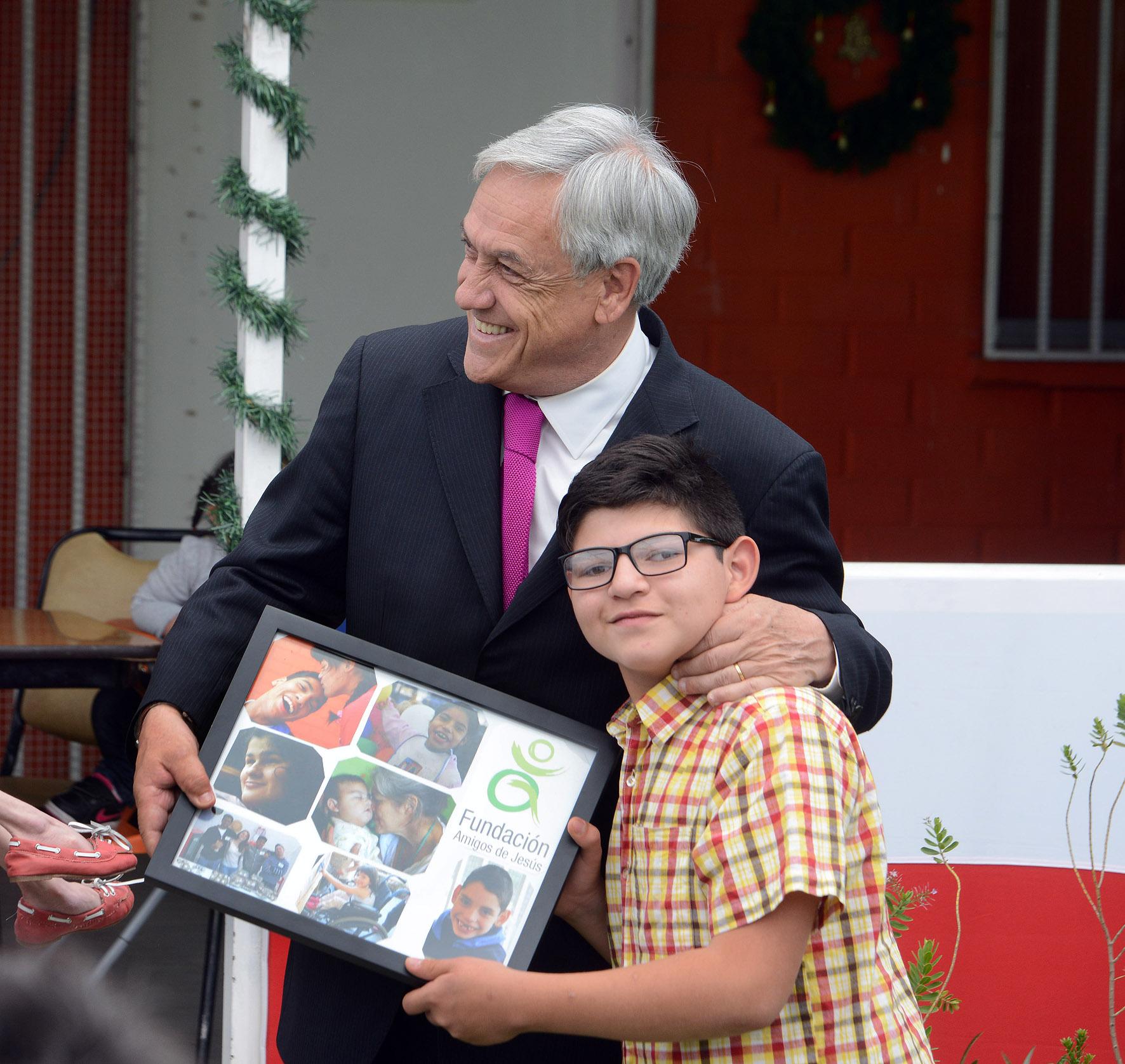 Presidente Piñera lanza Política Nacional para la Inclusión Social de las Personas con Discapacidad