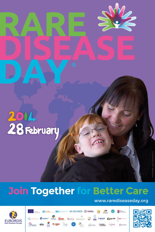 Póster Día de las Enfermedades Raras 2014