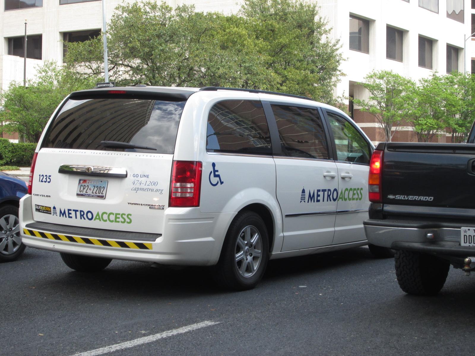 Servicio de transporte accesible / Fuente: Integrados.