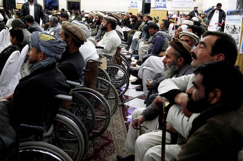 Personas con discapacidad / Fuente: ONU/Fardin Waezi