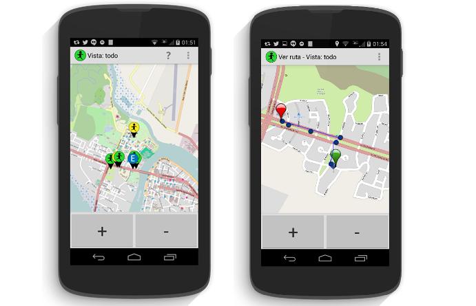 Vista de la aplicación Ciudad Fácil / Fuente: Ciudad Fácil
