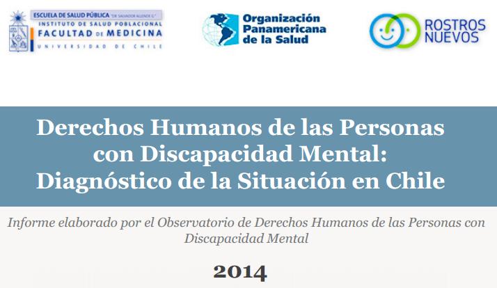 Portada Informe Derechos Humanos de Personas con Discapacidad Mental