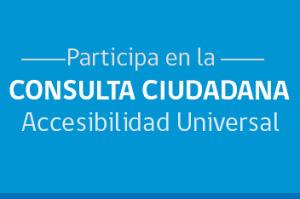 Banner Consulta Ciudadana Accesibilidad Universal Minvu