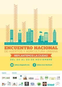 Encuentro Nacional de Huertos y Agricultura Urbana