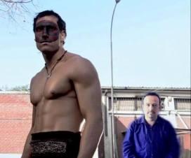 Imagen de película Kiltro con intérprete de Lengua de Señas Chilena