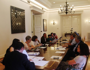 Sesión Comisión Asesora Presidencial en Discapacidad / Fuente: Flickr comisiondiscapacidad