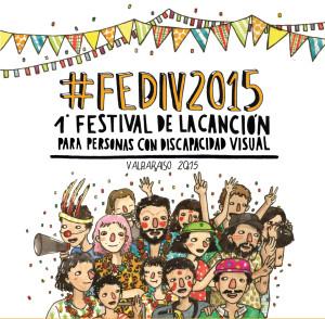 Afiche Festival de la Canción para Personas con Discapacidad de Valparaíso 2015