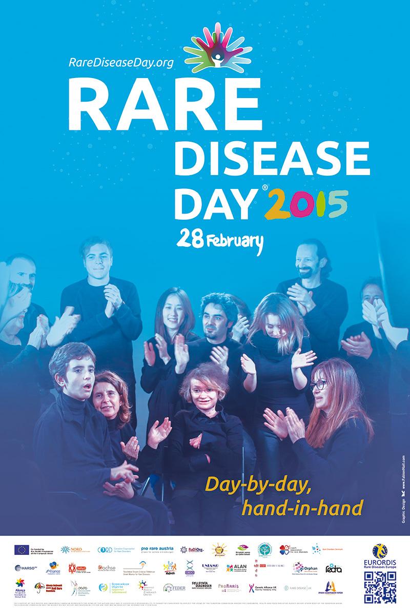 Afiche Oficial del Día de las Enfermedades Raras 2015
