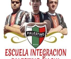 Afiche de la Escuela Integración Palestino Macul