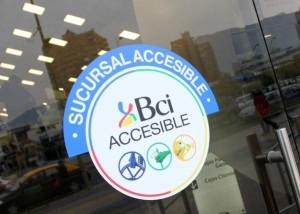 Logo de BCI Accesible - Crédito: @LasCondesAxeSOS