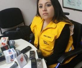 Andrea Cornejo, Alcaldesa Interina de La Paz, Bolivia - Fuente: EnlaceBolivia.com