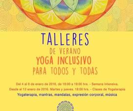 Afiche de Yoga Inclusivo