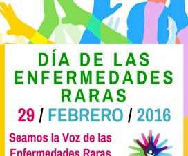 Banner del Día de las Enfermedades Raras 2016