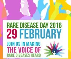 Afiche por el Día de las Enfermedades Raras 2016