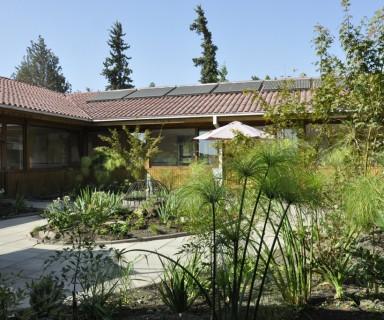 Jardín terapéutico Paz y Amor de Cottolengo.