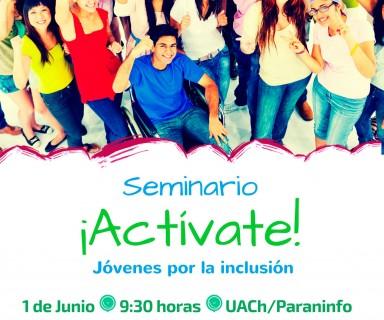 Afiche Seminario Actívate