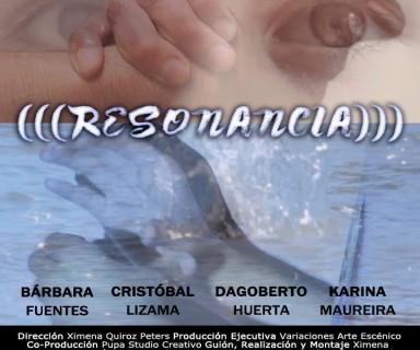 Afiche de documental (((Resonancia)))