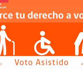 Voto Asistido - Fuente: Senadis