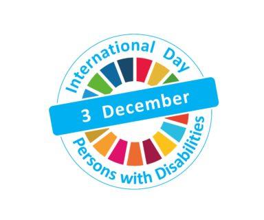 Logo Día Internacional de las Personas con Discapacidad