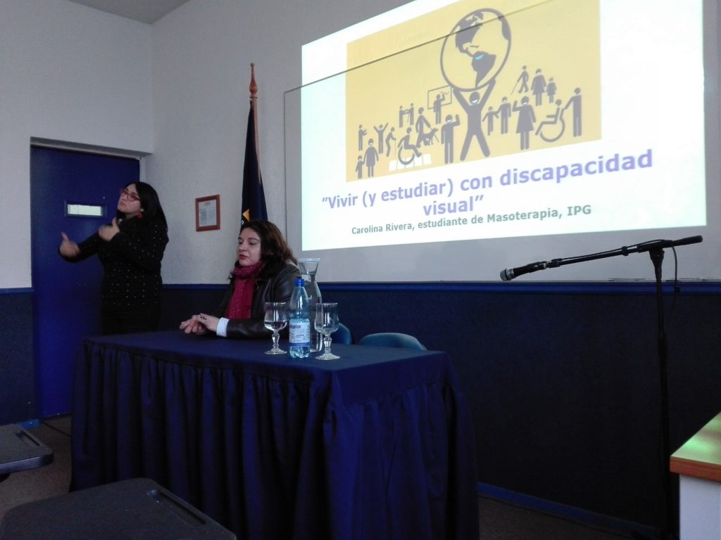 Estudiante de masoterapia de IPG Chile