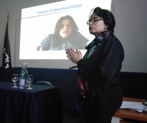 Beatriz Cabanillas presenta videos de expositores