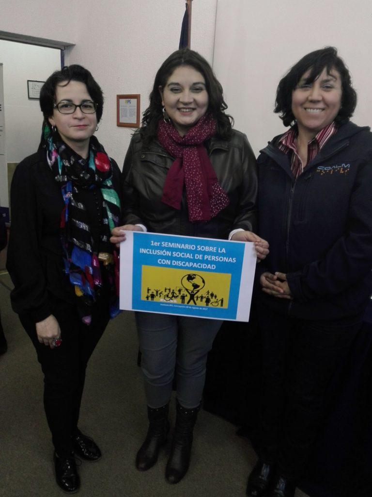Beatriz, profesora y estudiante con discapacidad de IPG Chile