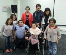 Fundadores de FOICH junto a Laurette Paravano