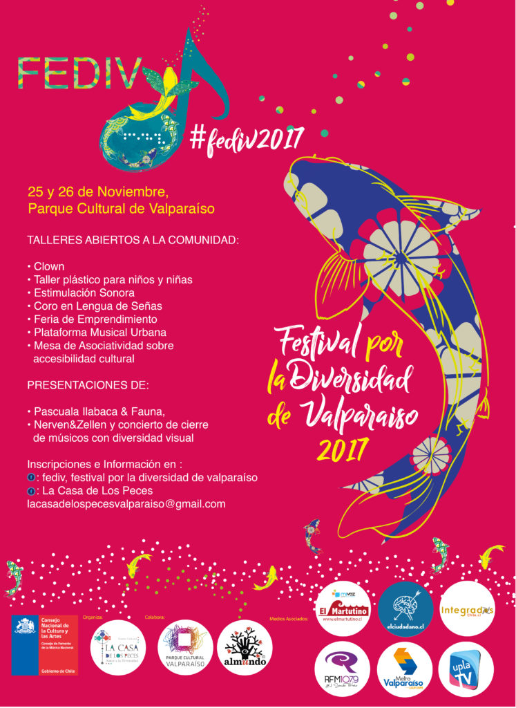 Afiche de FEDIV 2017