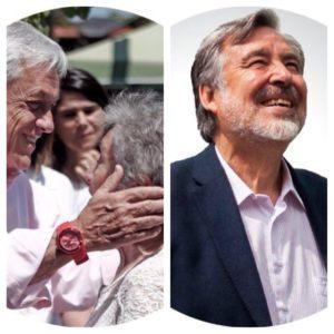 Imagen de Sebastián Piñera y Alejandro Guillier