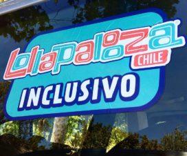 Logo de Lollapalooza Inclusivo - Fuente: www.integradoschile.cl