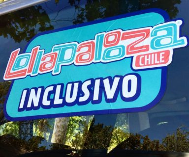 Logo de Lollapalooza Inclusivo - Fuente: www.integradoschile.cl