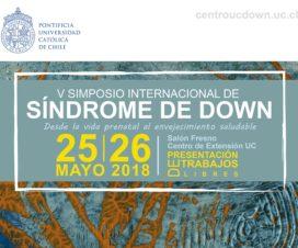 Afiche Seminario Síndrome de Down 2018 2