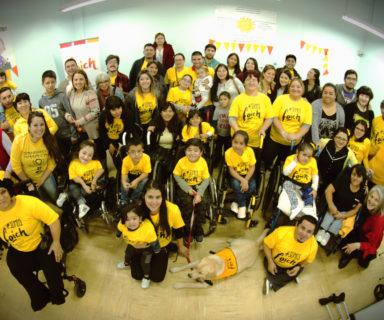 Fotografía grupal de asistentes al encuentro Foich 2018.