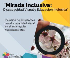 Flyer concurso Mirada Inclusiva